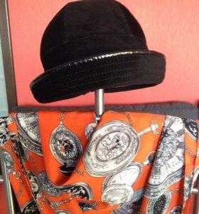 Новая замшевая шляпка