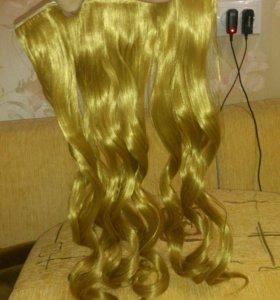 Продам волосы на заколках.