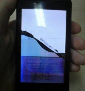 Телефон микро макс  разбит дисплей
