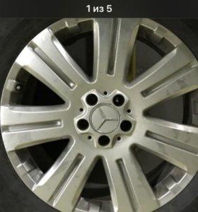 R19 литые ориг.диски Мерседес Mercedes GL