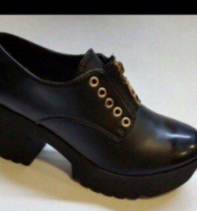 Новая демисезонная обувь