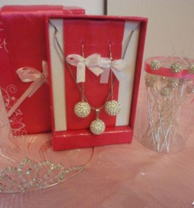 Свадебные аксессуары,  бижутерия