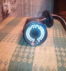 Камера видеонаблюдения ночного вид.
