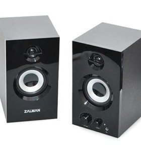 Колонки 20Вт 2.0 Zalman ZM-S300. Новые