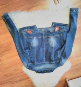 Джинсовый пиджак