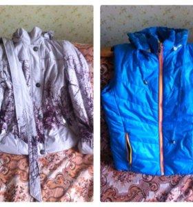 Куртка (осень), безрукавка