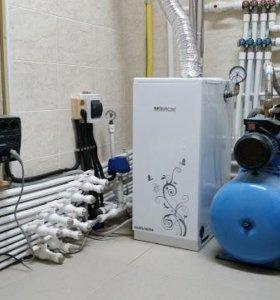 Отопление, водо-снабжение, канализация, электросет
