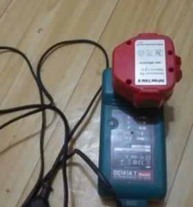 Аккумулятор и зарядное макита