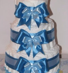 Торт из памперс на заказ