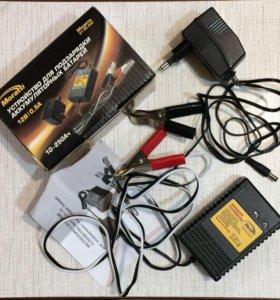 Устройство для подзарядки аккумуляторных батарей.