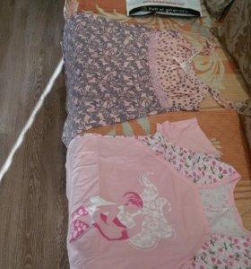 Немножко б/у одёжка для беременной и для кормления