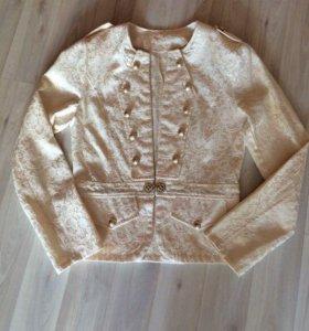 Жаккардовый пиджак