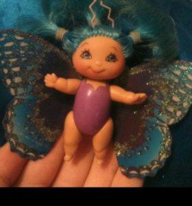 Кукла дюймовочка-бабочка