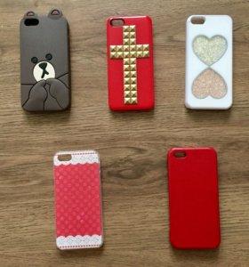 Чехлы на iPhone 5, 5s, 6, 6s