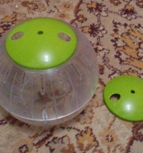 Колесо и переноска для грызунов