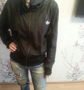 ветровка куртка Адидас размер 46-48