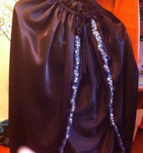 Карнавальный костюм Черный плащ