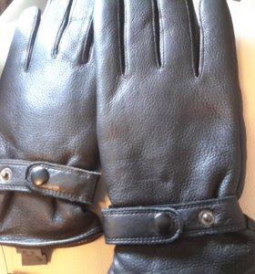 Новые кожанные перчатки.