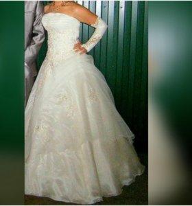 Свадебное платье,в идеальном состоянии