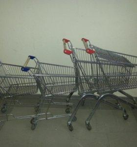 Тележки для покупателей
