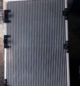 Радиатор охлаждения Авео и кондиционера астра H