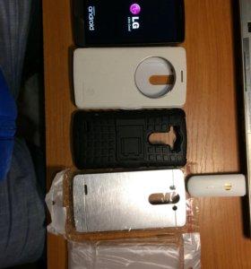 LG G3S + чехлы