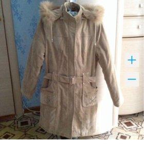 Новое пальто (вельветовое) 42/44