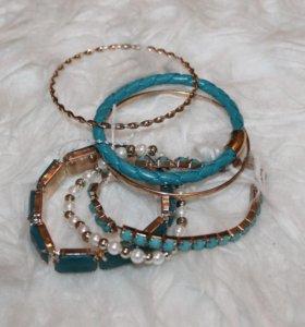 Набор браслетов, новый