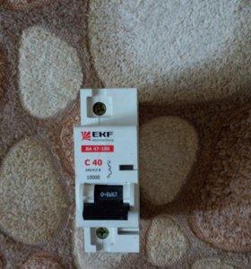 Автоматический выключатель  серии ВА 47-100 EKF