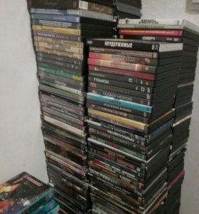 DVD диски на любой вкус, мелодрамы, боевики, ужасы