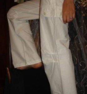 Штаны летние белые 42 xs новые