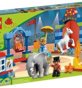 Лего дупло большой цирк 10504