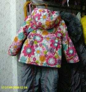 Детский демисезонный костюм р.р 92/52