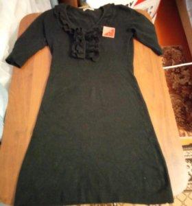 Мягкое теплое платье Турция