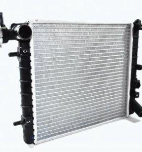 Радиатор двигателя hyundai accent