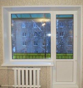 Окна пластиковые лоджии балконы
