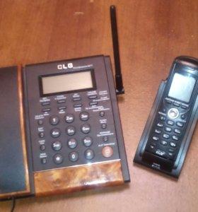 Телефон домашний с переносной трубкой