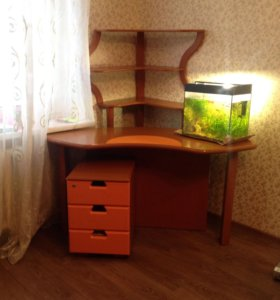 Письменный стол+ тумба под телевизор + этажерка