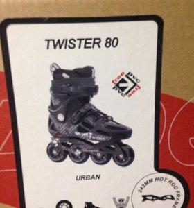 Ролики Rollerblade Twister 80, размер 36,5 (23см),