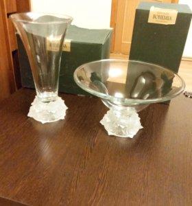 Продаю вазы богемия новые