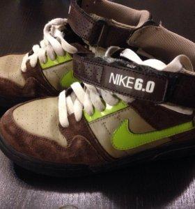Nike 6.0 кеды 36 р-р