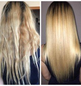 Кератирование волос, ботокс для волос