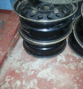 Комплет стальных кованых дисков 4 шт