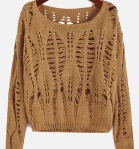 НОВЫЙ укорочённый свитер
