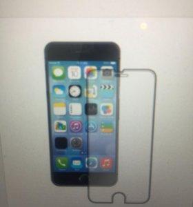 Защитное стекло на Айфон 6