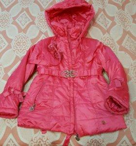 Куртка Shaluny для девочки 116размер