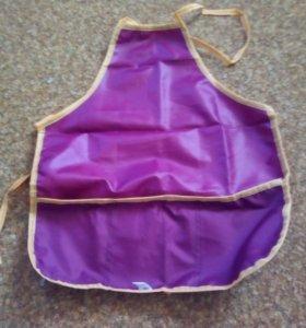 Фартук фиолетовый