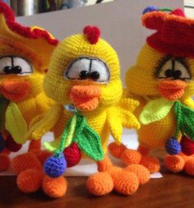 Игрушка-Цыпалета в берете