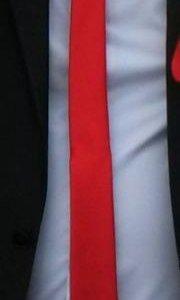 Галстук красный