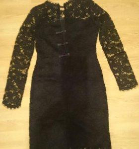 Шикарное новое гипюровое  платье